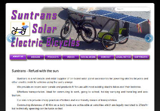 Suntrans - Solar Electric Bicycles